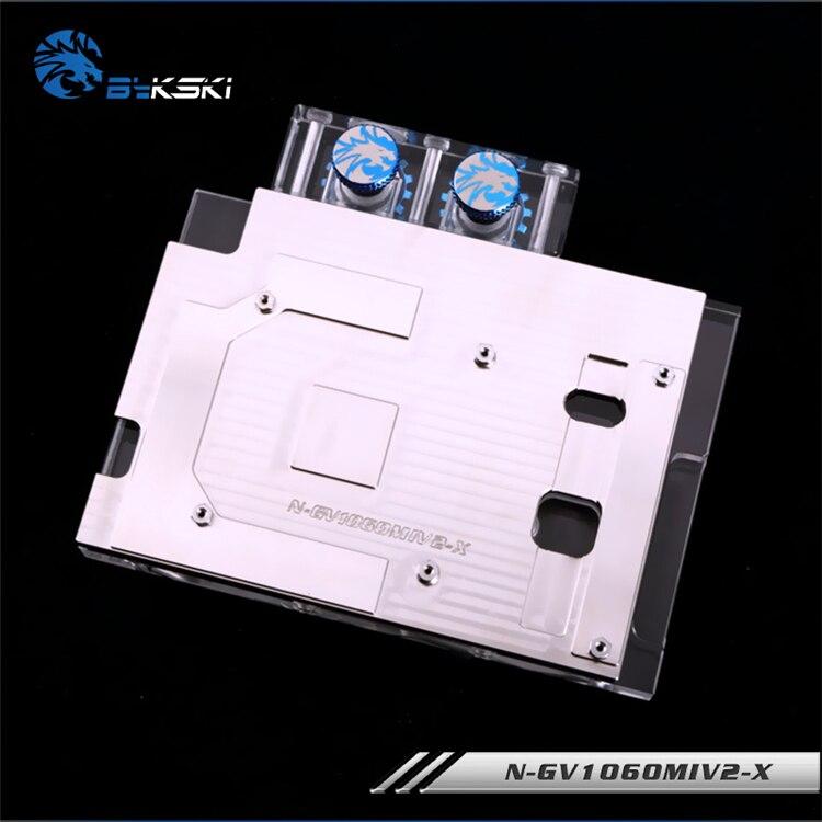 Bykski N GV1060MIV2 X, Full Cover Videokaart Waterkoeling Blok RGB/RBW voor Gigabyte GTX1060WF2OC/GTX1060 IXOC-in Ventilatoren en koeling van Computer & Kantoor op AliExpress - 11.11_Dubbel 11Vrijgezellendag 3