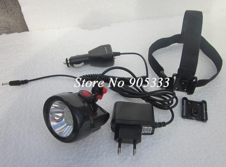 Darmowa wysyłka 1W Led Headlamp dla górników łowieckich i - Przenośne oświetlenie - Zdjęcie 6