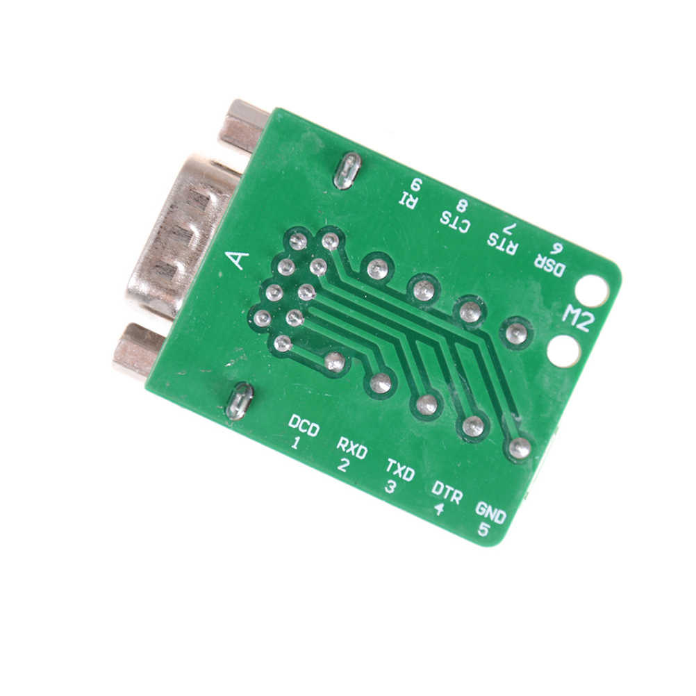 9Pin DB9 Connector Terminal Module RS232 RS485 Adapter Signals Interface Converter Male COM D Sub