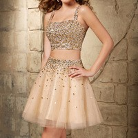 Vestidos-De-Coctel-Elegant-Cocktail-Dresses-Two-Piece-Homecoming-Dress-Beaded-Spaghetti-Strap-A-Line-Prom.jpg_200x200