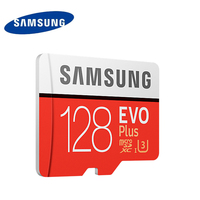 Original Samsung U3 Memory Card 128GB EVO PLUS Micro Sd Card Class10 UHS 1 64GB 256GB