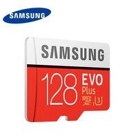 Original Samsung U3 Memory Card 128GB EVO PLUS Micro Sd Card Class10 UHS 1 64GB 256GB