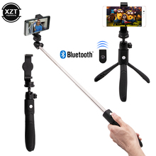 3 in 1 Wireless Bluetooth Selfie Stick For iPhone Removable Foldable Handheld Monopod Shutter Remote Extendable Mini Tripod
