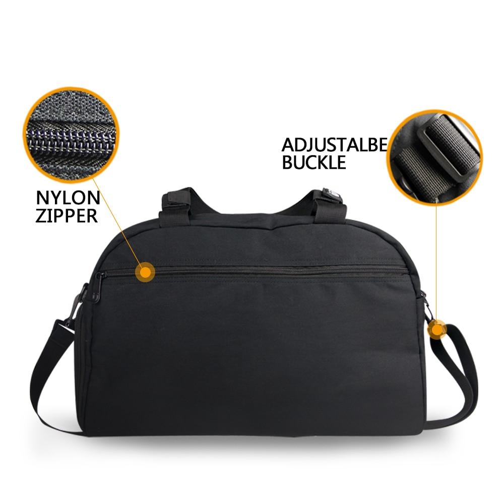 Aliexpress.com : Buy FORUDESINGS Printing Panda Luggage Travel Bag ...