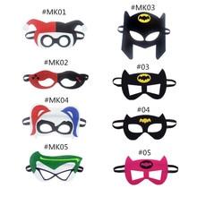 Mask Harley Quinn Joker DC Super Hero Batman Kids Gift Costume Star Wars Xmas Avengers DIY Masquerade Eye Cosplay