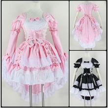 Adult Fantasia Maid Cosplay Costume Anime The Love of the Angel For Women Female Cos Christmas Halloween Dresses