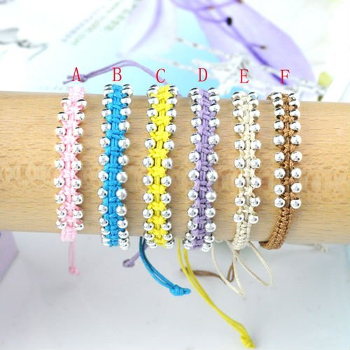 Handmade Friendship Costume Jewelry Fashion Bracelet with Ajustable Size , Free Shipping , BR-888B