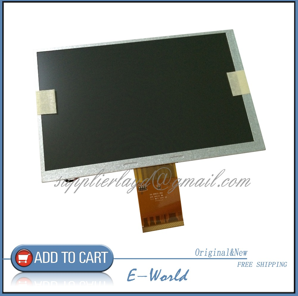 Original and New 7inch LCD screen A070VW08 V0 V2 for Car DVD Free Shipping