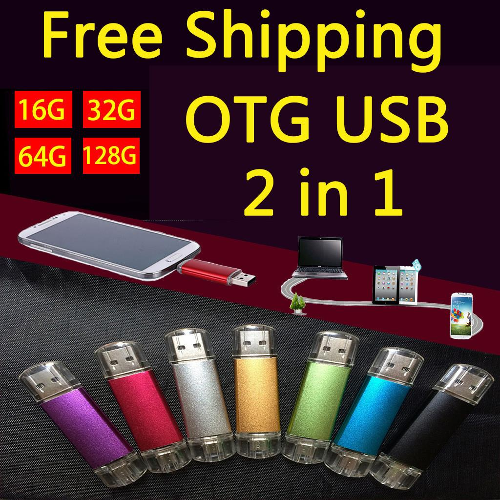 New Smart Phone 2.0 USB Flash Drive 64GB Pen Drive 512GB 32GB Pendrive 8GB OTG External Storage Mini Usb Memory Stick 1TB Gift