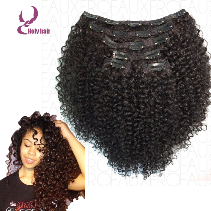 For black women afro kinky curly clip in hair extensions 100 for black women afro kinky curly clip in hair extensions 100 unprocessed brazilian virgin human hair clip in extensions 7pcs on aliexpress alibaba pmusecretfo Choice Image