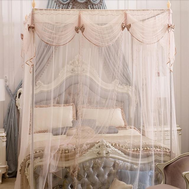 Chino mosquitera mental marcos soporte cama cenefa cortina boutque ...