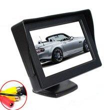 """Fiable De Mode Nouveau Nouveau 4.3 """"TFT LCD Couleur HD Shade Voiture Rétroviseur Moniteur DVD Caméra ma31 dropshipping"""