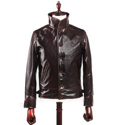 Free shipping.New Brand classics men 100% cow leather Jackets men's genuine Leather jacket.casual coat,gift sales
