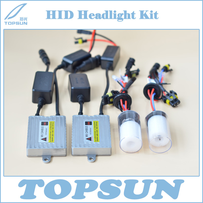 Free Shipping Car Headlight Kit 35W HID CANBUS Ballast W9 and Cnlight Ball-shaped Bulb H1 H3 H7 H8 H9 H10 H11 9005 9006 880 881 gztophid xenon conversion headlamp kit cnlight straight bulb car lamp h 7 h3 h1 h9 h11 9005 9006 h27 880 881 free shipping