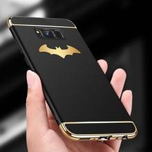 New Luxury Batman Phone Case For Samsung Galaxy S8 / Plus Coque PC Hard Back Cover S7/ S7 Edge Fundas