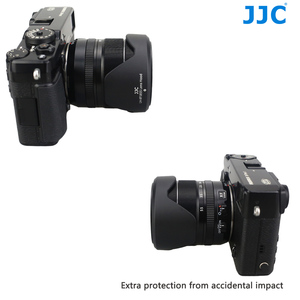 Image 5 - JJC Black Hood Lente Da Câmera para FUJINON F2.8 XF14mm R/R LM OIS LENTE XF18 55mm F2.8 4