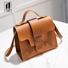 Casual Small Leather Crossbody Bags for Women 2019 Design PU Handbags Tote Shoulder Messenger bag