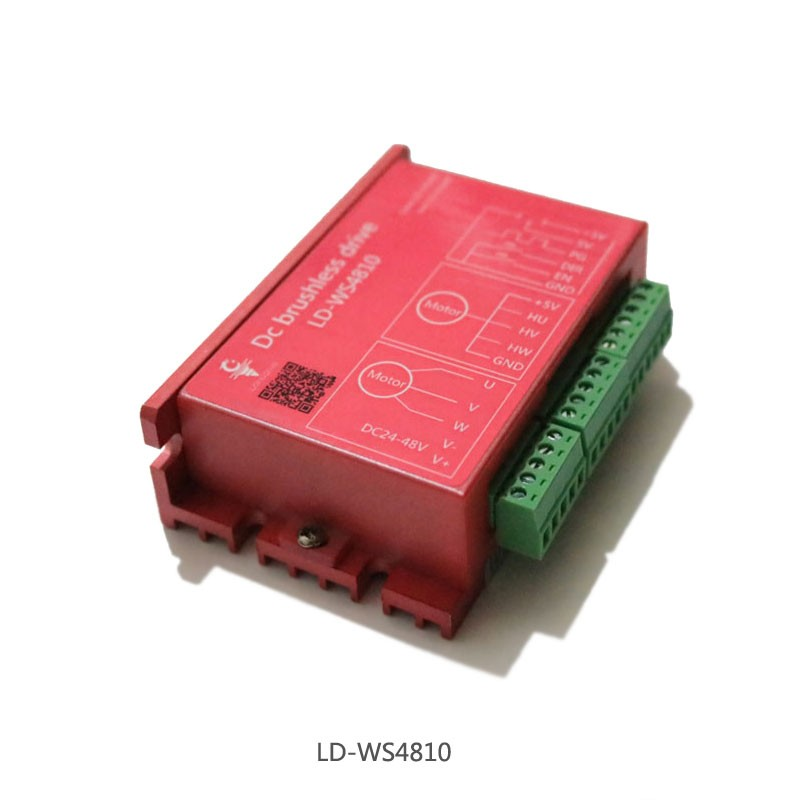 NEW 1PC LD WS4810 Brushless Motor Driver CNC Engraving Electromechanical Spindle Driver Brushless DC Drive