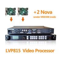 Большой СВЕТОДИОДНЫЙ знак видеостены 3 AV канала видео процессор lvp815s для LED Grand этап экран с двумя Nova MSD300