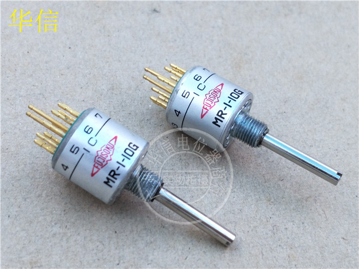 все цены на Original new 100% Japan import MR-1-10G MR-I-10G change-over switch 1 knife 10 gear band switch commutation switch
