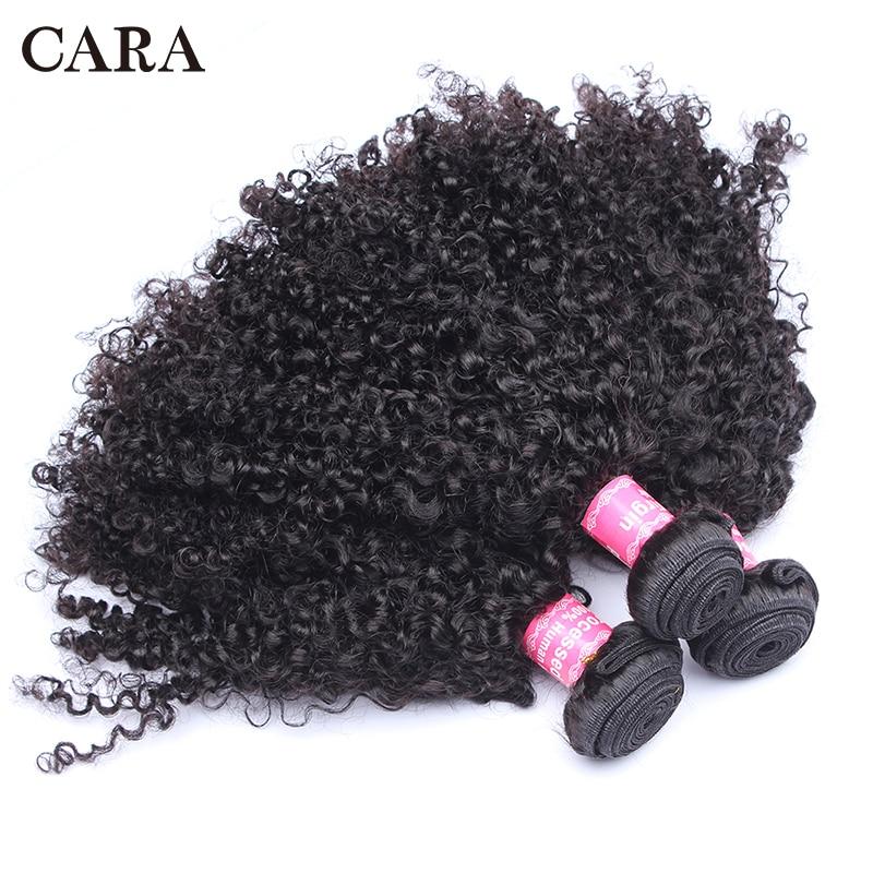 브라질 변태 곱슬 머리카락 사람 머리카락 1 또는 3 - 인간의 머리카락 (검은 색)