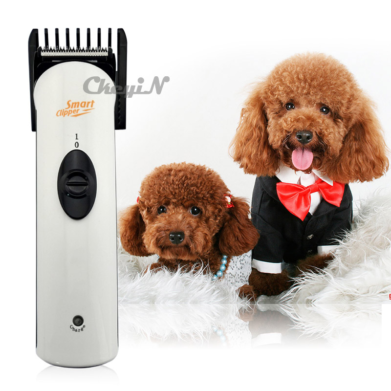 Professional Rechargeable Electric Cat Dog Hair Clipper Pet Trimmer Cutter Professional Animals Cutters Grooming Cutting Machine professional 24w pet dog hair trimmer ceramic head clipper animal electric cat grooming hair cutter shaver razor w comb brush