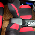 Universal Car Seat Cover Set New Black Blue & Red 9Pieces Seat Covers For Crossovers SUV Sedans Four Seasons Free Shipping