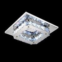 Flush Mount Lâmpada Do Teto de Cristal Moderna Para Sala de estar Quarto Corredor Luzes de Cristal Lustre de Cristal LED Luzes de Teto de Cristal|modern crystal ceiling lamp|crystal ceiling lamp|ceiling lamp -