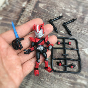 Image 2 - 66mm Japanese original amine figure Kamen Rider 66ACTION DRIVE Q version movable action figure collectible model toys for boys