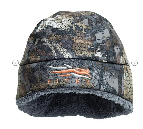 2017 Brand Sitka Men Winter Cap Camouflage Windproof Thicken Warmest Hat Soft Fur SITKA Hunting Cap Beanie in Men Skullies Cap