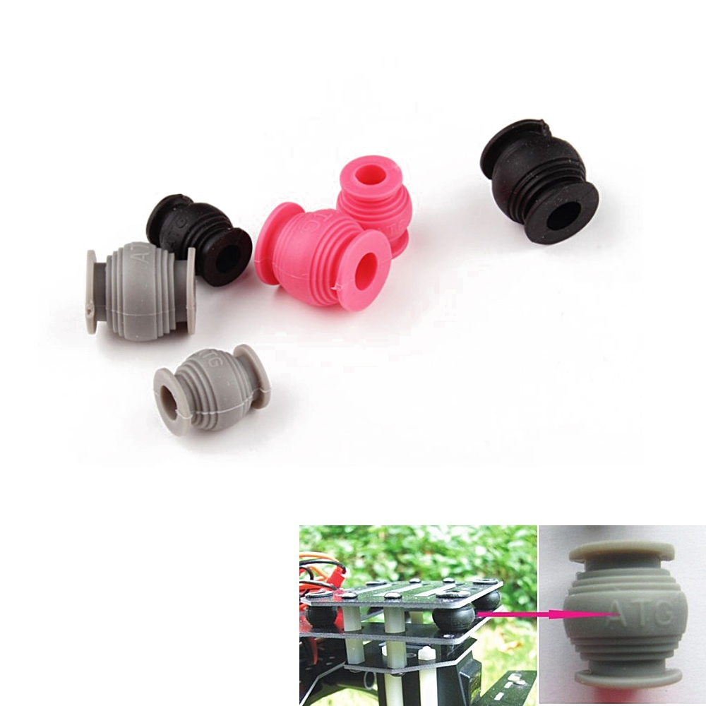 4pcs/lot ATG AV Damping Ball High Elastic Rubber Ball Dual-head Anti-vibration For PTZ Wholesale