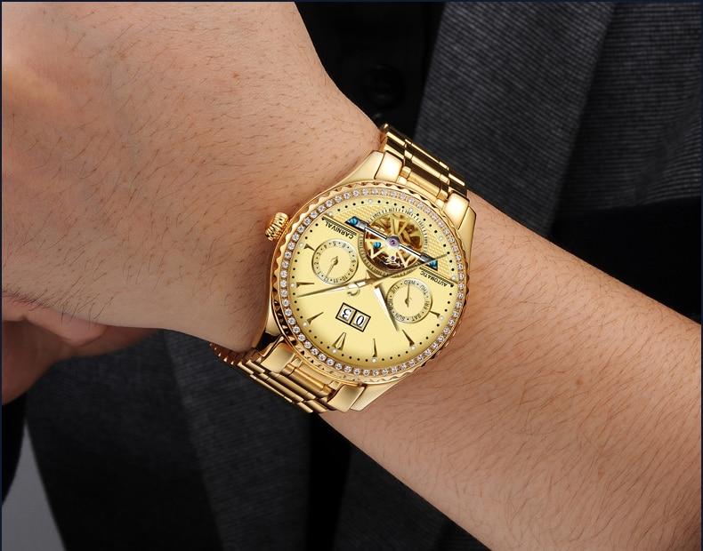 ძვირადღირებული ბიზნეს - მამაკაცის საათები - ფოტო 4
