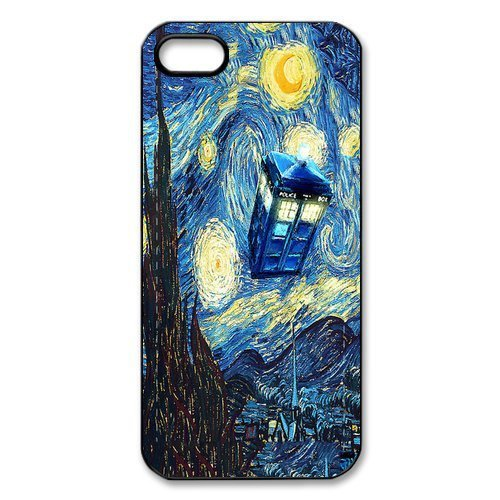 Popular TV Program Doctor Who / Dr. Who the Police Box Case Cover For iPhone 4/4s/5/5s/5c/6/6s/6plus/6s plus