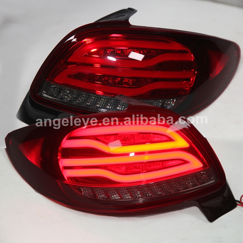 For PEUGEOT 206 LED Tail Lamp V2 Type 1998 To 2004 Year WH