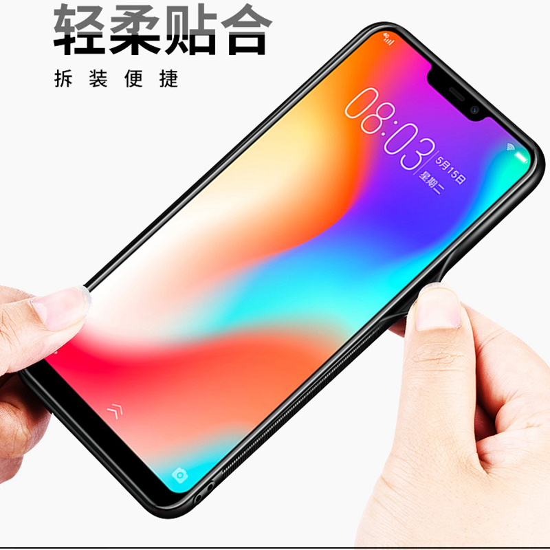 Tempered glass Case for VIVO Y83 Y 83 Beautiful Pattern Stylish Back Cover Hard Case for VIVO Y83 Soft Bumper Case VIVOY83 in Fitted Cases from Cellphones Telecommunications