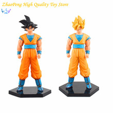 Dragon Ball Z Action Figures Son Goku Super Saiyan 19cm DXF Dragonball Z Figures Anime Model Toys FB262