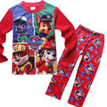 For Boys Girls In Pajamas Sets Clothes Autumn Winter New Cartoon Dog Printing Infantil Kids Clothing Suits Christmas Cotton