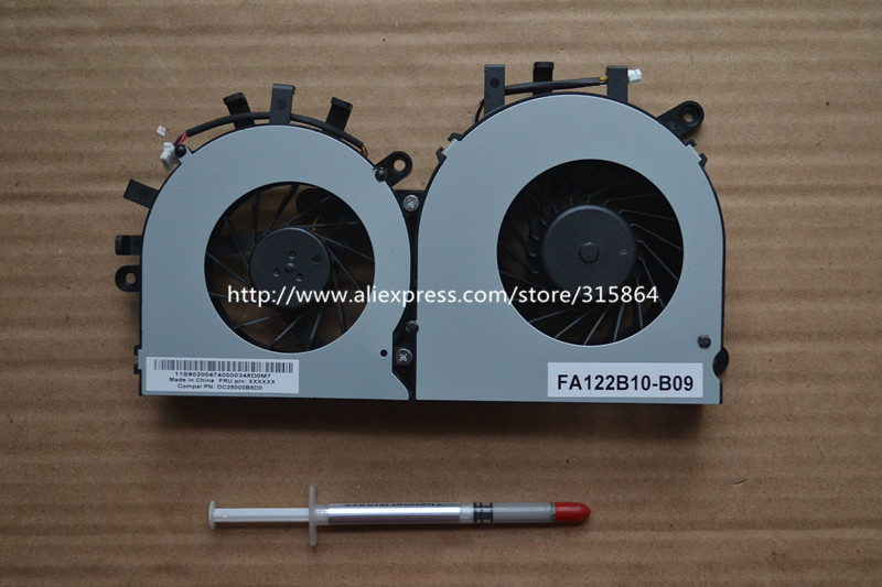 TWO FAN CPU AND GPU Cooler Fan for Lenovo ldeaCentre B345 B545 cooling fan gpu fan cpu fan new for m18x gpu r gpu l cpu fan 0xhw5w 0podg8 0j77h4 brand new and original dc5v 0 5a page 4