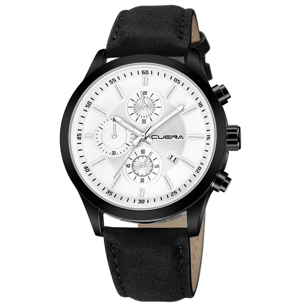 HTB1DM5.acnrK1RjSspkq6yuvXXam Fashion mens watches top brand luxury business sport quartz wrist watch leather watchband women watches ladies dress clock USPS