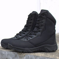 High Top Shoes Men Army Boots Military Desert Tactical Combat Boots Travel Outdoor