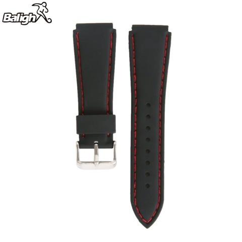 Newest Fashion Fashion Silicone  Watch Band Men Women Wristwatch Strap  18,20,22, 24mm Wrist Bracelet  Watches Accessories Islamabad