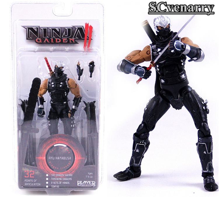 Toys & Hobbies The Hottest Game Ninja Gaiden Ryu Hayabusa Pvc Action Figure Collectible Model Toys 718cm To Clear Out Annoyance And Quench Thirst