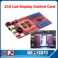 free shipping Asynchronous RGB led display controller Z16 for full color led sign 256*512 pixels led video screen control card