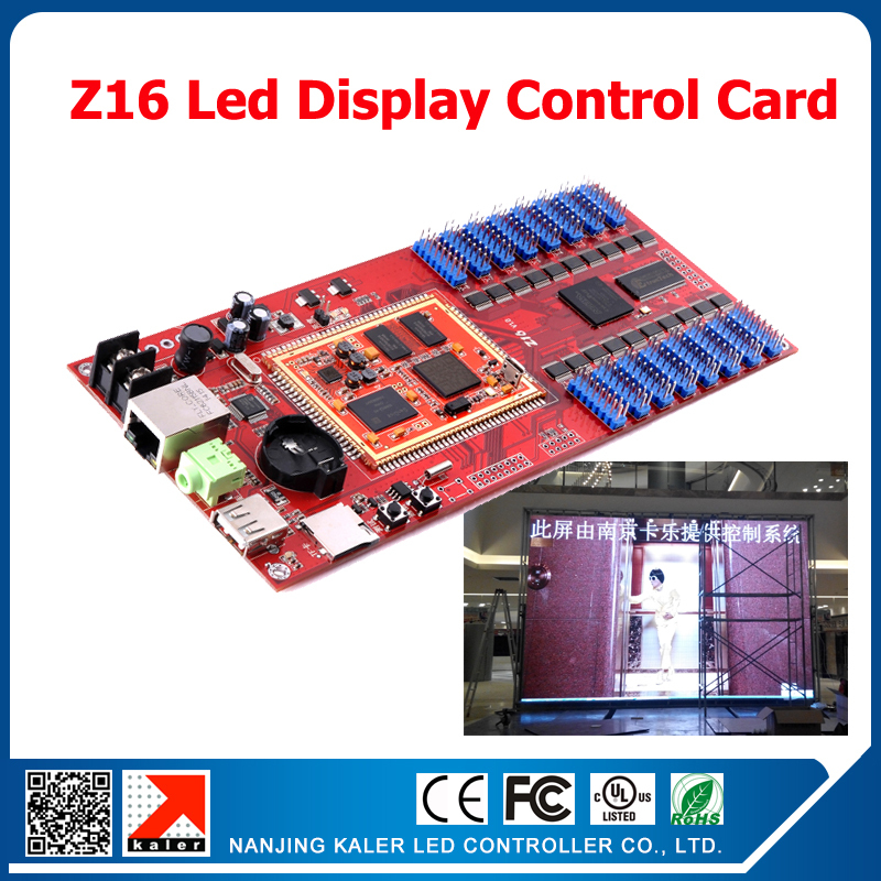 free shipping Asynchronous RGB led display controller Z16 for full color led sign 256*512 pixels led video screen control cardfree shipping Asynchronous RGB led display controller Z16 for full color led sign 256*512 pixels led video screen control card