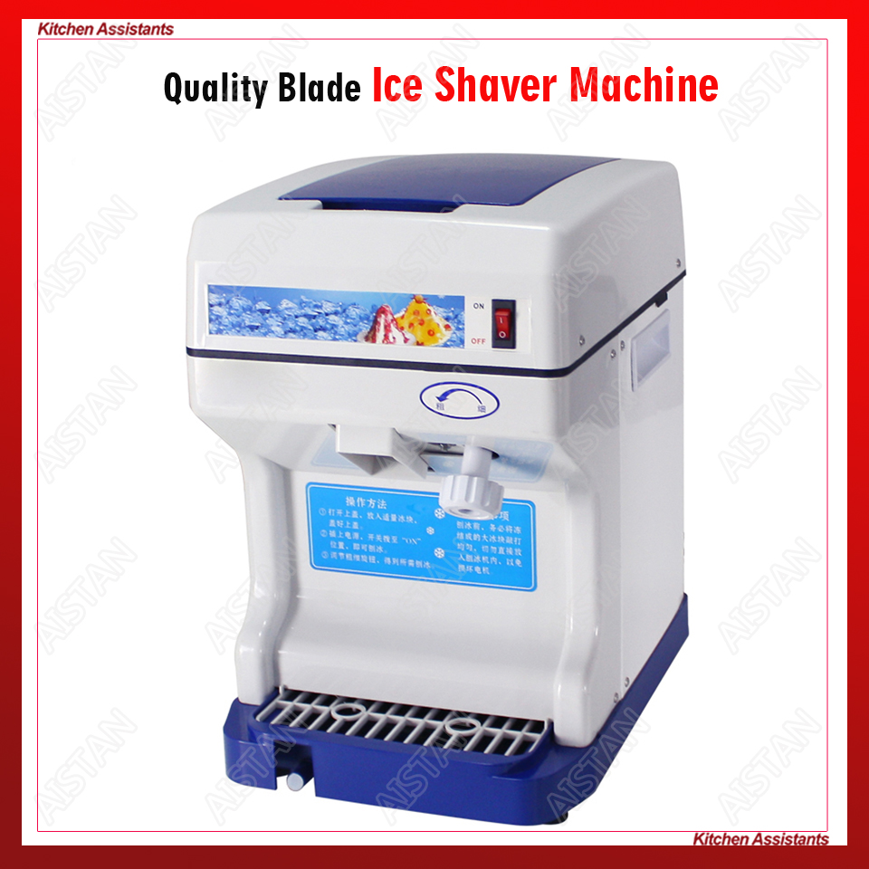 HK168 electric commercial cube ice shaver crusher machine for commercial shopHK168 electric commercial cube ice shaver crusher machine for commercial shop