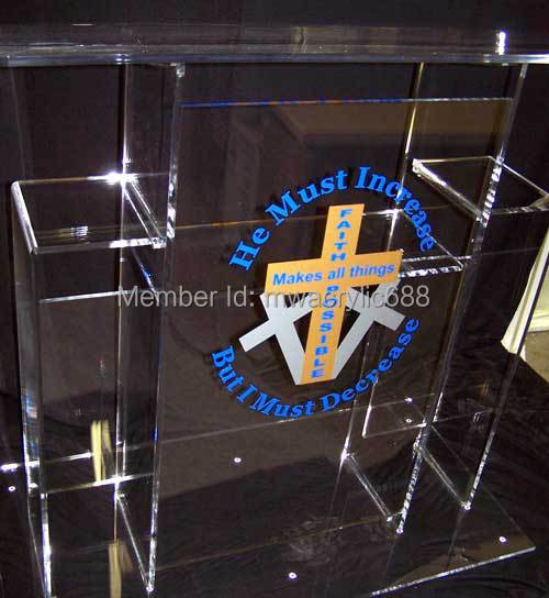 Free Shipping High Quality Price Reasonable Cheap Clear Acrylic Podium Pulpit Lectern free shipping high quality price reasonable cleanacrylic podium pulpit lectern podium