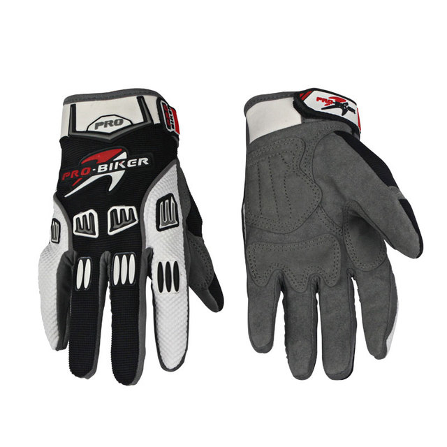 PRO-BIKER Full Finger Motocross Gloves Luva Guantes Moto Motocicleta Luvas De Moto Summer Winter Offroad Motorcycle Gloves CE-02