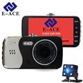 E-ACE Car Camera Dvr Full HD 1080 Auto Video Recorder Dual Camera Lens Night Vision Dash Cam Registratory Motion Detection