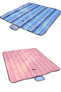 Image 2 - Picnic mat moisture proof mat portable outdoor reinforced picnic cloth spring outing picnic beach field lawn mat1.5*1.8m