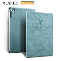 AJAKES Smart Leather Case For Apple IPad Air IPad Air 2 Cover Deer Design Flip Stand